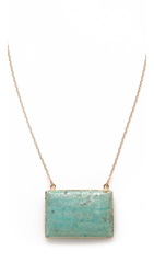Heather Hawkins Reunion Necklace Turquoise