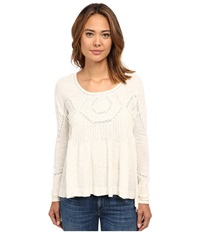 Free People New Hope Babydoll Ivory Women's Clothing White