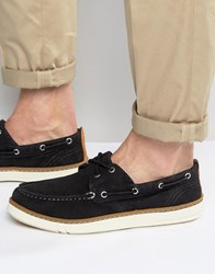 Timberland Hookset Boat Shoes Navy