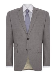 Corsivo Zeno Textured Suit Jacket Grey