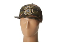 Brixton Pledge Snap Back Camo Traditional Hats Multi