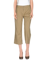 Jucca Trousers 3 4 Length Trousers Women Sand