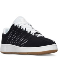 K Swiss Men's Classic Vn Casual Sneakers From Finish Line Black White