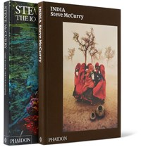 Phaidon Set Of Two Books India And The Iconic Photographs By Steve Mccurry Black