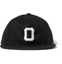 Osaka Tigers Appliqued Wool Baseball Cap Black