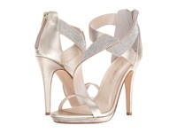 Caparros Fantastic Platino Clear Metallic High Heels