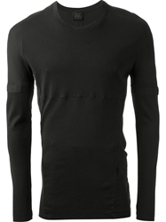 Lost And Found Darted Top Black