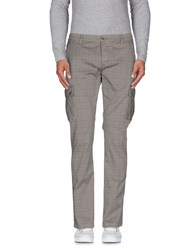 Camouflage Ar And J. Trousers Casual Trousers Men Grey