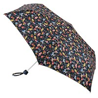 Cath Kidston Mini Owls And Flower Minilite Umbrella Navy Multi