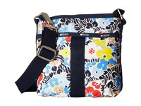 Le Sport Sac Essential Crossbody Ocean Blooms Navy Cross Body Handbags Multi