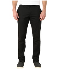 Rvca The Week End Stretch Pants Black Men's Casual Pants
