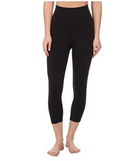 Beyond Yoga High Waist Capri Leggings Black Women's Casual Pants