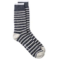 Norse Projects Bjarki Classic Normandy Socks Blue
