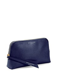 Aspinal Of London Essential Cosmetic Case Blue