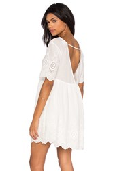 Somedays Lovin Daisy Eyes Dress White
