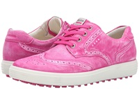 Ecco Casual Hybrid Wingtip Candy Women's Golf Shoes Pink