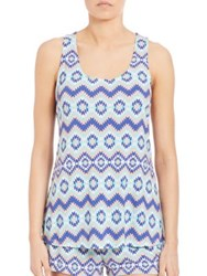 Cosabella Relaxed Fit Racerback Cami Tahoe Print
