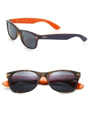 Ray Ban 55Mm Wayfarer Sunglasses Havana Orange