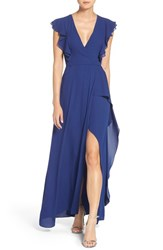 Bcbgmaxazria Women's Georgette Fit And Flare Gown