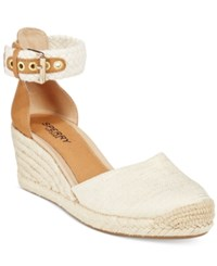 Sperry Women's Valencia Espadrille Wedges Women's Shoes Natural Gold