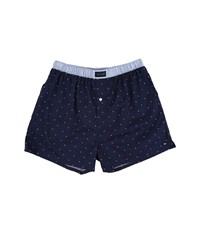 Tommy Hilfiger Woven Boxer Flag Sailor Navy Men's Underwear