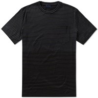 Lanvin Stripe Pocket Tee Black