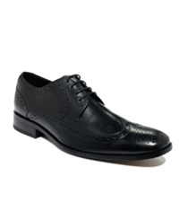 Bostonian Alito Wing Tip Lace Up Shoes Men's Shoes Black