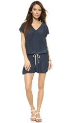 Ramy Brook Lanaya Romper True Navy