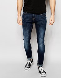 Pull And Bear Pullandbear Super Skinny Fit Jeans In Midwash Blue Blue