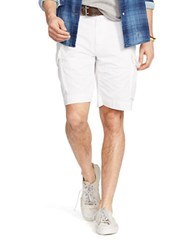Polo Ralph Lauren Relaxed Fit Chino Cargo Short White