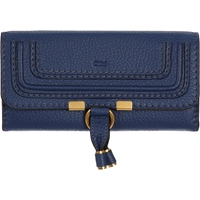 Chloe Marcie Continental Wallet 706 Royal Navy