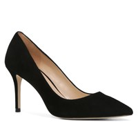 Aldo Kediredda Pointed Toe Stilettos Black Suede