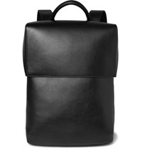 Balenciaga Phileas Leather Backpack Black