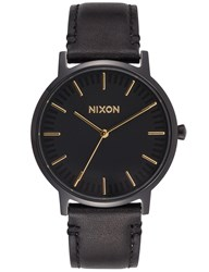 Nixon Porter Leather With Gold