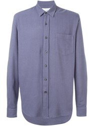 Our Legacy Chest Pocket Shirt Blue