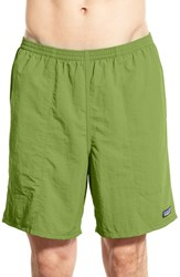 Men's Patagonia 'Baggies Longs' Swim Trunks Supply Green