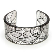 Lily Gardner Black Lace Cuff