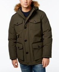 Levi's Heavyweight Faux Fur Trim Hooded Parka