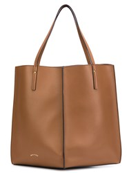 Maiyet 'Sia' Medium Shopper Brown