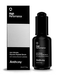 Anthony Logistics For Men High Performance Anti Aging Glycolic Peptide Serum 1Oz No Color