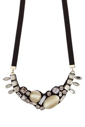 Marni Crystal Embellished Necklace Multicolor
