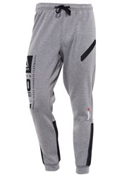 Reebok Tracksuit Bottoms Grey Mottled Grey