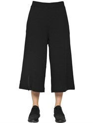 Y 3 Double Knit Cotton Jersey Pants