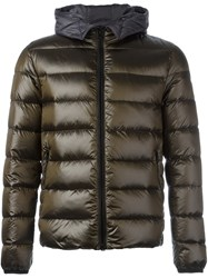 Fay Padded Jacket Brown