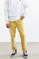 Bdg Washed Yellow Straight Jean