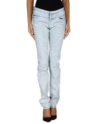 Hudson Denim Pants Light Grey