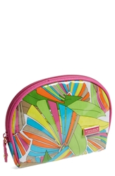 Stephanie Johnson 'South Beach Fiona' Dome Cosmetics Case