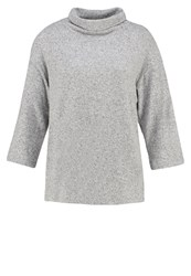 Gap Long Sleeved Top Light Grey Marle Mottled Light Grey