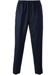 Carven 'Elasticated' Trousers Blue
