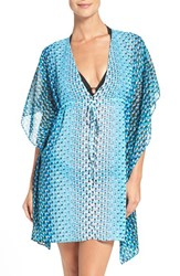 Gottex Women's Profile By Print Chiffon Cover Up Tunic